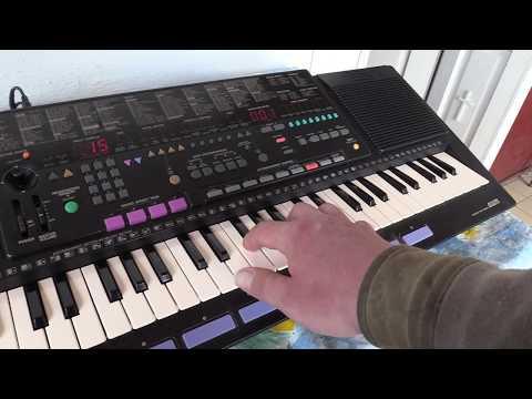 Краткий обзор синтезатора Yamaha PSS-51