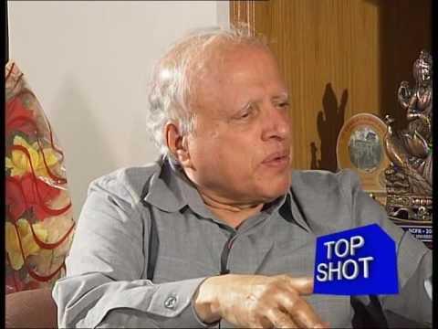 TOP SHOT- Sh Suresh Prabhu interviewing Dr MS Swaminathan