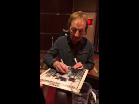Mik Kaminski ELECTRIC LIGHT ORCHESTRA Signing Autographs Te