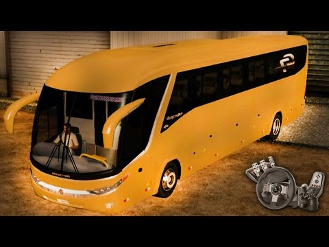 Euro Truck Simulator 2 - EAA Bus - Marcopolo Paradiso G7 1200 Scania 4x2 - Com Logitech G27