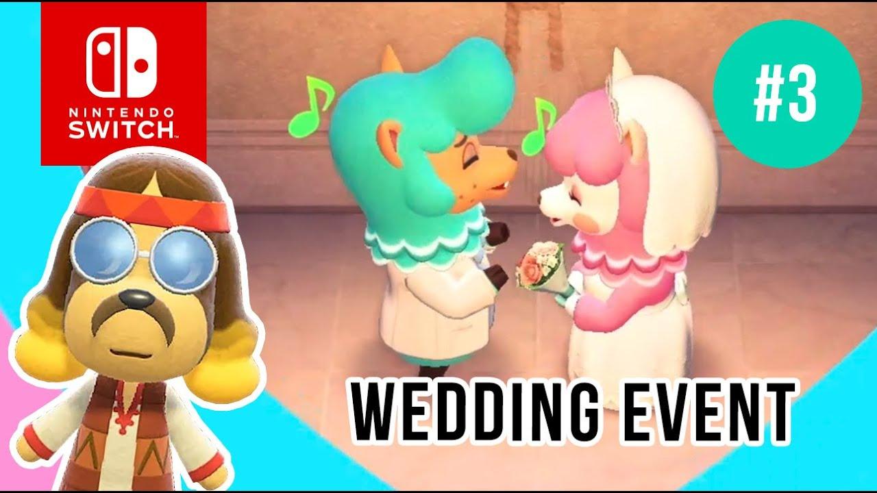 Wedding Event Day 3 Reese Cyrus June 3rd Harv S Island Animal Crossing New Horizons Youtube