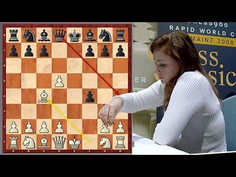 Judit Polgar Goes For King's Gambit