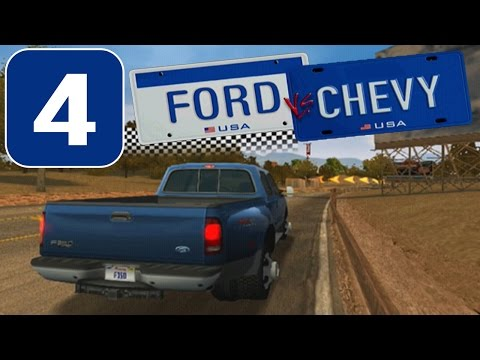 Ford vs. Chevy [HD][PS2] - Stage #4 - Trucks Challenge