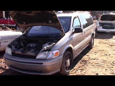 Sold For Scrap! 1999 Oldsmobile Silhouette