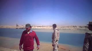 جنود الجيش المصرى يحرسون قناة السويس الجديدة