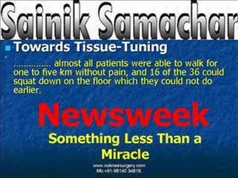 New Knee Arthritis Pain Cure