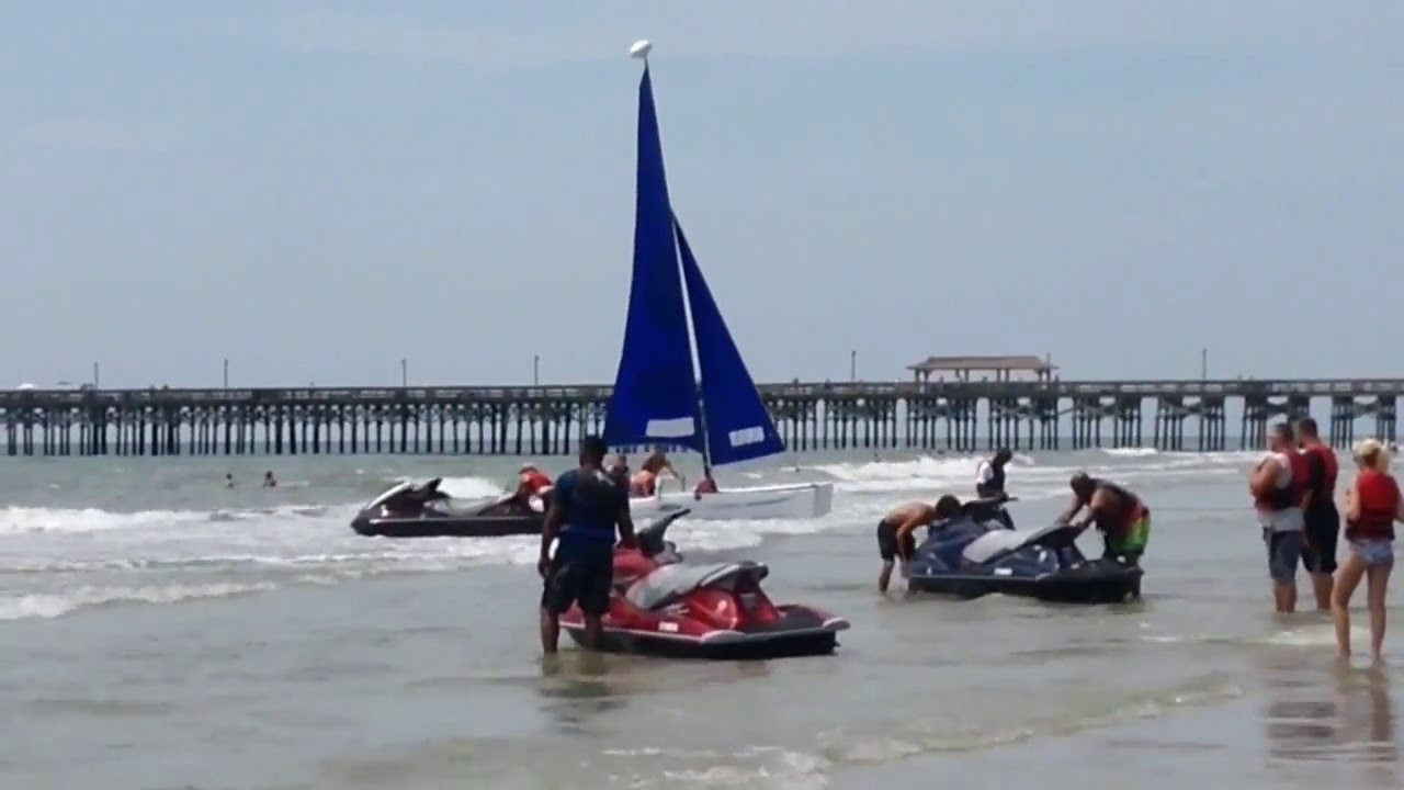 Parasailing Jetski Banana Boat At Myrtle Beach South Carolina