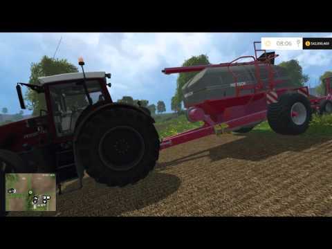 Farming Simulator 15 PC Mod Showcase: Fendt 936 Red Tractor