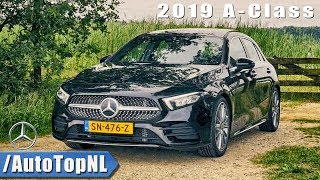 Mercedes Benz A Class 2019 Review by AutoTopNL (English Subtitles)
