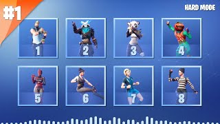 GUESS THE FORTNITE DANCE BY ITS MUSIC - HARD MODE | tusadivi