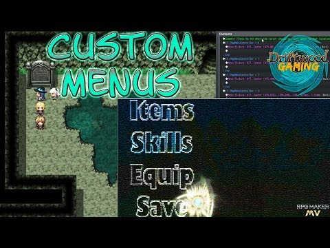 Rpg Maker Mv Custom Menu