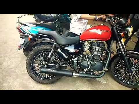 Royal Enfield Iron Head exhaust Sound