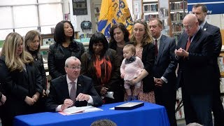 Gov. Murphy signs paid family leave program into law