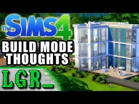 LGR - The Sims 4 Build Mode Gameplay Revealed