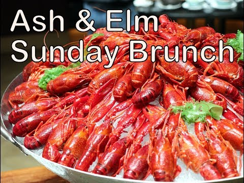 Ash & Elm Sunday Champagne Brunch Buffet