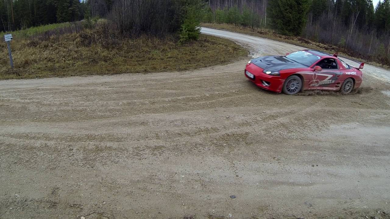 3000gt Vr4 Rally Drift Youtube