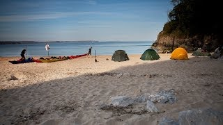 Wild Camping In Pembrokeshire With Go Sea Kayak HD 1080p Video Sharing