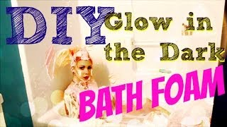 Pinterest Diy Pins: Do they work? Episode 3 Glow in the Dark Bath Foam