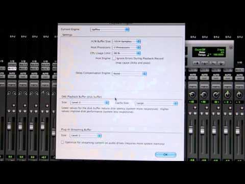 Pro Tools HD 9 Error 6101 CPU Overload FIX