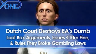 Dutch Court Destroys EA's Dumb Loot Box Arguments, Issues €10m Fine, Rules EA Broke Gambling Laws