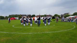 Boghall And Bathgate Juvenile Pipe Band, Bathgate Games, May 2017