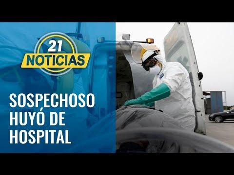 Coronavirus: Sospechoso en Chiclayo se escapó del hospital