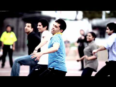 Kolaveri Di Auckland Flash Mob - Official Video HD 2011