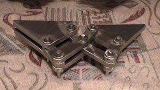 видео Самодельные петли для дверей: как сделать своими руками