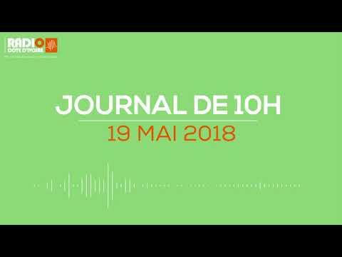 Le journal de 10H00 du 19 avril 2018 - Radio Côte d'Ivoire