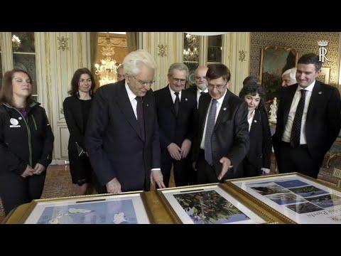 Mattarella incontra la Federazione Italiana Parchi...