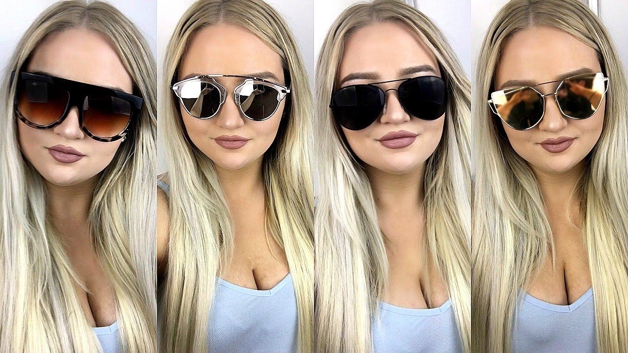 65c2c9ccbea6  1 eBay Sunglasses TRY ON Haul ♡ Tobie Jean - YouTube