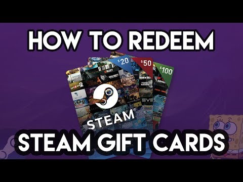 How To Redeem A Steam Gift Card