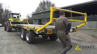 Cosnet  - Plateau fourrager - Remorque fourragère JUPITER ▲ AGCO Libre service