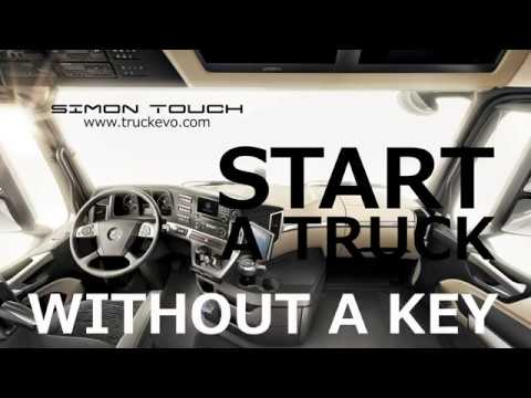 Start a truck without key