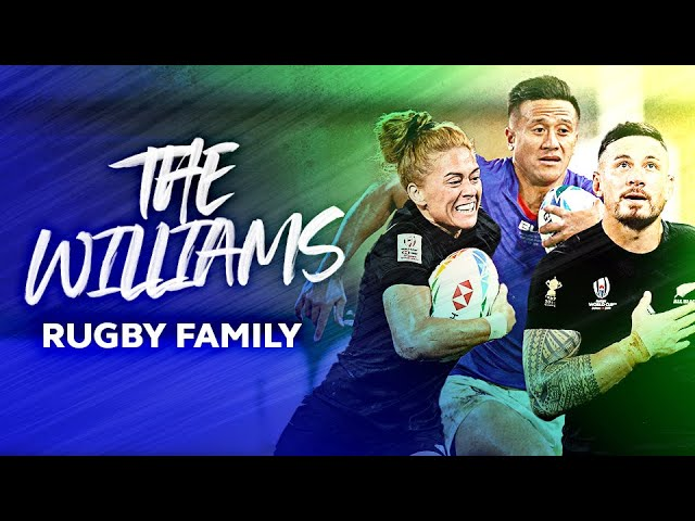 🤩 Rugby's Most Skilful Family? 🤩 SBW, Tim Nanai-Williams & Niall Williams