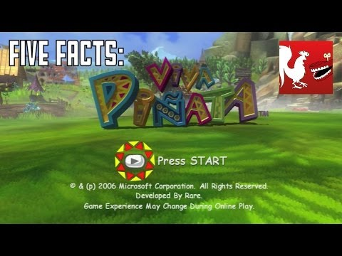Five Facts - Viva Pií±ata | Rooster Teeth