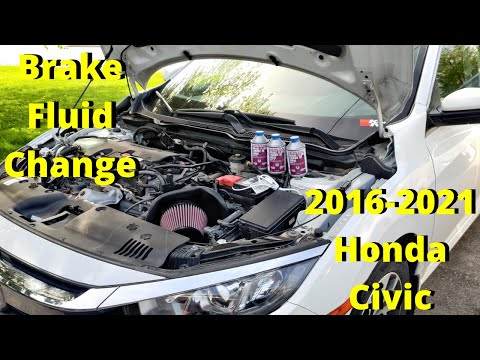 How To Do Brake Fluid Flush / Two Person Method / Vacuum Pump