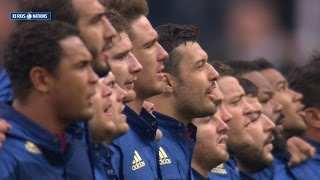 French national anthem, France v Scotland, 07th Feb 2015