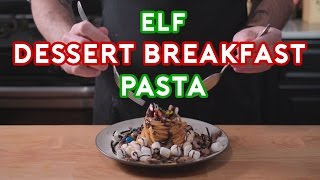 Binging with Babish: Breakfast Dessert Pasta from Elf