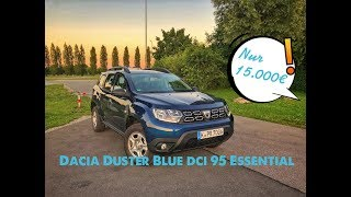 Dacia Duster Blue dCi 95 Essential 2WD | POV Drive by UbiTestet