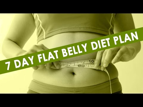 7 Day Flat Belly Healthy Eating Meal Plan || Weight Loss Diet Plans ||  Best health tips