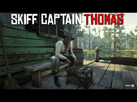 NEW Skiff Captain Thomas mission - Red Dead Online - YouTube