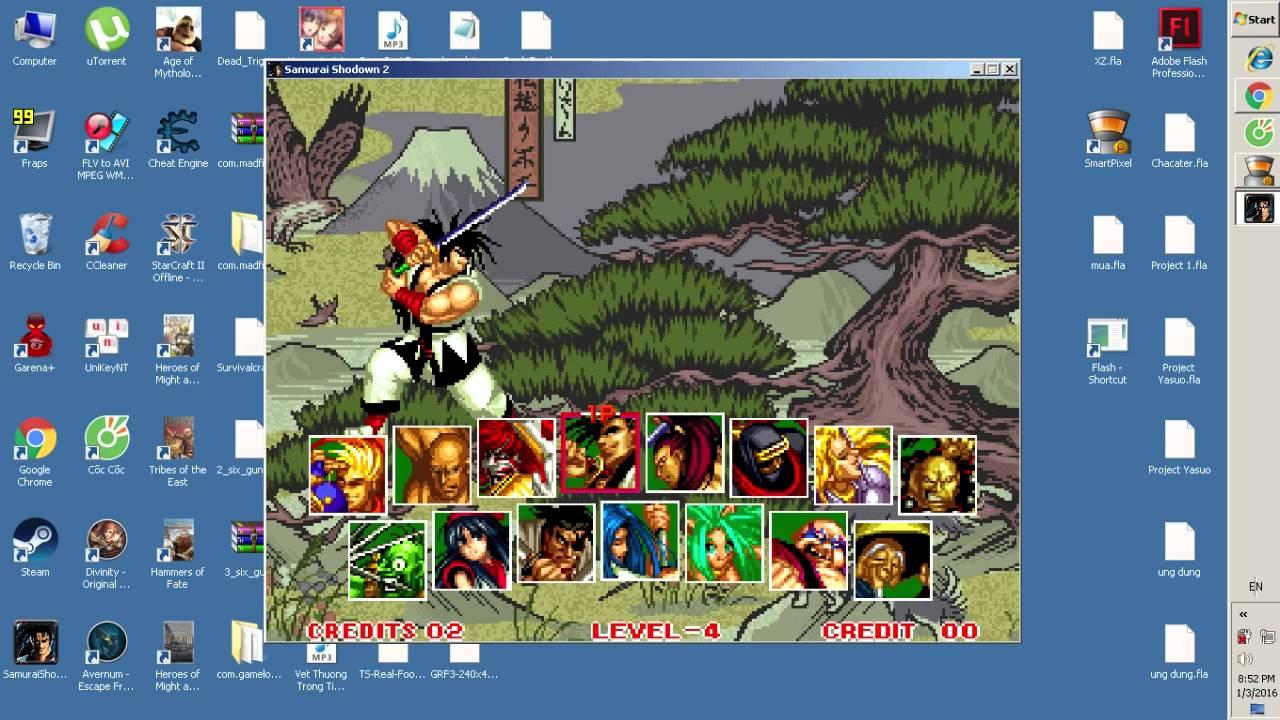 Samurai Shodown 2 - game huyền thoại ( link download ...