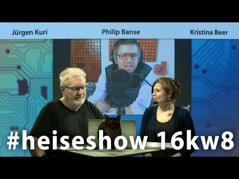 #heiseshow (16KW8): neuer Bundestrojaner / Crypto Wars 3.0 (Apple vs. FBI)