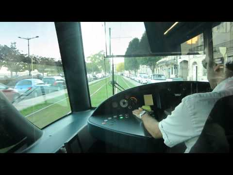 Riding The Bordeaux Tramway (France)