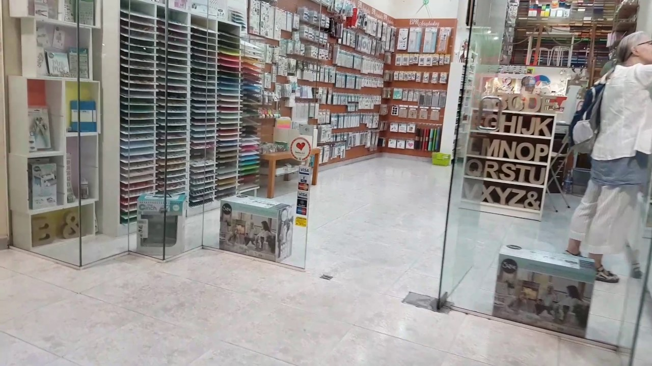 Grappa Scrapbooking Store In Barcelona Spain Youtube