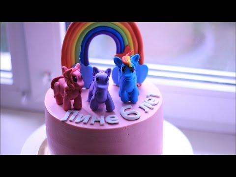 Торт. Рецепт ванильный бисквит на день рождения. Крем для выравнивания и украшения