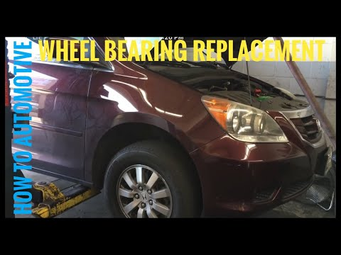How to Replace the Front Wheel Bearings on a 2009/2010 Honda Odyssey