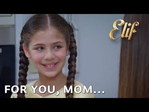 Anne bak, senin için yaptım... | Elif 750. Bölüm