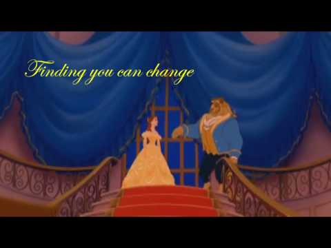 Beauty And The Beast Lyrics- Celine Dion And Peablo Bryson
